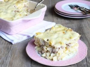 Ricetta Pasta al forno in bianco