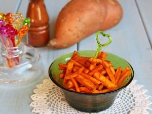 Ricetta Stick di Patate dolci alla paprika