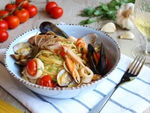 Ricetta Spaghetti allo Scoglio Bimby