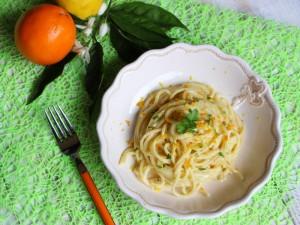 Ricetta Spaghetti agli Agrumi