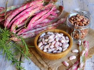 Ricetta Come pulire e cuocere i fagioli borlotti freschi