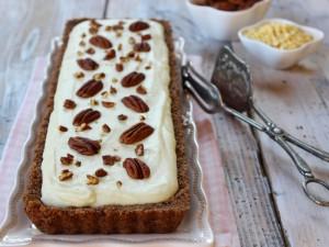 Ricetta Crostata al cioccolato bianco senza cottura