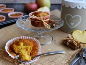 Ricetta Muffin di zucca e mela