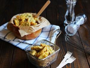 Ricetta Funghi champignon in pastella