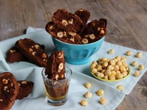 Ricetta Cantucci al cioccolato e nocciole