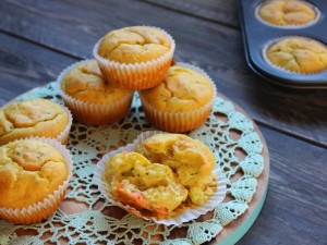 Ricetta Muffin salati con salmone e zucchine