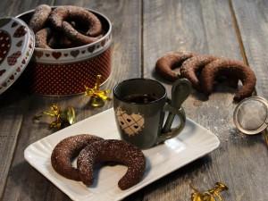Kipferl al cioccolato