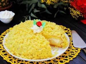Ricetta Torta mimosa all'ananas