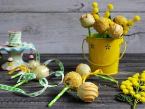Ricetta Cake pops al limone