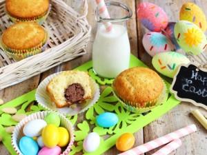Ricetta Muffin con ovetto di cioccolato