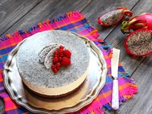 Ricetta Cheesecake con la pitaya
