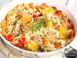 Ricetta Quinoa: il cereale non-cereale che piace agli chef