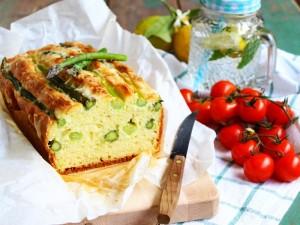 Ricetta Plumcake salato con asparagi e asiago