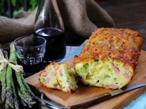 Ricetta Plumcake con asparagi e prosciutto