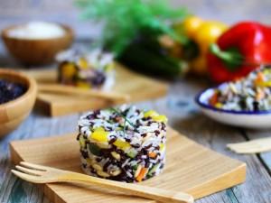 Ricetta Insalata di riso night and day