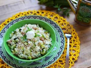Ricetta Insalata di riso con zucchine e tonno