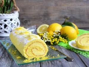 Ricetta Rotolo al limone