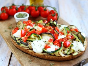 Ricetta Bruschetta con verdure grigliate