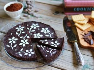 Ricetta Torta senza cottura al cioccolato