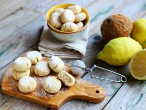 Ricetta Biscotti cocco e limone