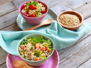 Ricetta Insalata di riso ai tre cereali