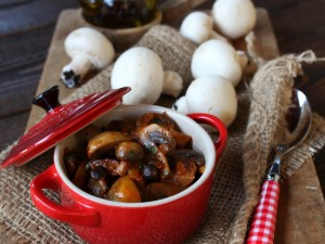 Ricetta Funghi in umido