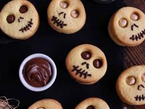 Ricetta Biscotti farciti di Halloween