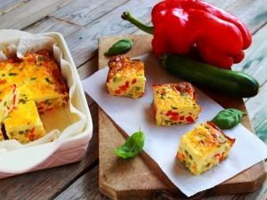 Ricetta Frittata di verdure al forno