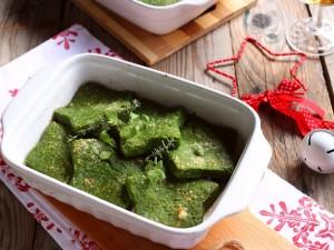 Ricetta Stelline di semolino agli spinaci