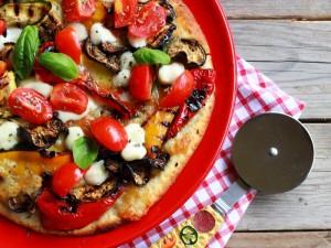 Ricetta Pizza alle verdure