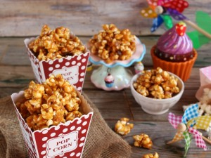 Ricetta Pop corn caramellati