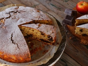 Ricetta Torta di mele morbidissima con ricotta e cioccolato