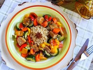 Ricetta Tempeh in padella con verdure
