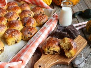 Ricetta Panini dolci di zucca e cioccolato