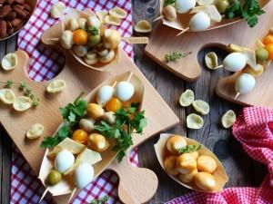 Ricetta Spiedini di uova di quaglia