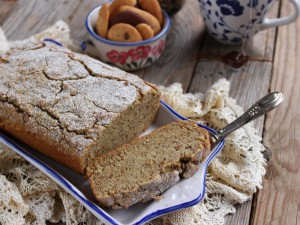 Ricetta Plumcake senza glutine al tè matcha
