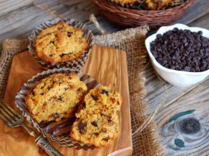 Ricetta Dolcetti di farina di kamut e gocce di cioccolato