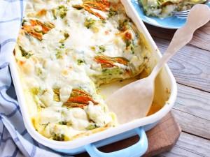 Ricetta Lasagne estive con zucchine e fiori