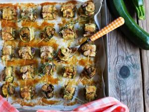 Ricetta Involtini di zucchine e tonno