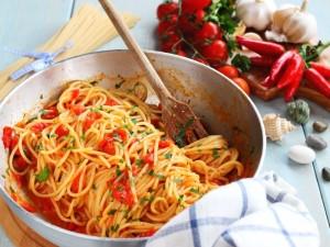 Ricetta Spaghetti alle vongole fujute