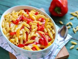 Ricetta Pasta e peperoni al forno
