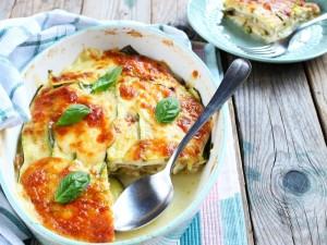 Ricetta Parmigiana di zucchine crude