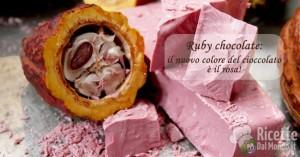 Ricetta Ruby chocolate: il nuovo colore del cioccolato è il rosa!