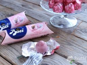Ricetta I Baci Perugina diventano rosa