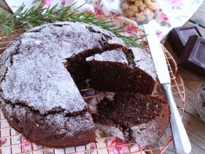 Ricetta Torta al cioccolato vegana integrale