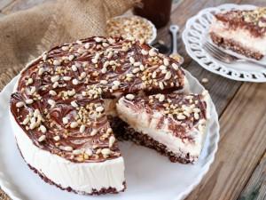 Ricetta Cheesecake alla Nutella con base di riso soffiato