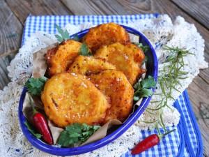 Ricetta Frittelle di zucca salate