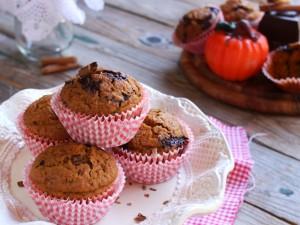 Ricetta Muffin alla zucca vegani