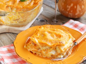 Ricetta Lasagne di zucca e salsiccia