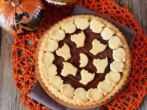 Ricetta Crostata di Halloween alla Nutella